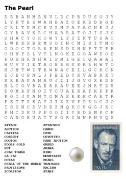 The Pearl Word Search