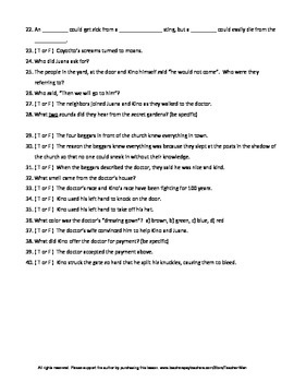 The Pearl by John Steinbeck 273 Question Guided Reading Pack with Answer Key