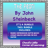 The Pearl by John Steinbeck - Chapter Reading Quizzes - Multiple Choice