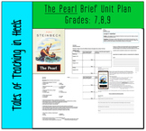 The Pearl- Brief unit plan for Grades 7, 8, & 9