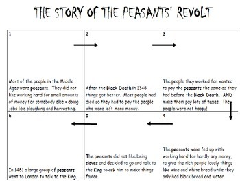 The Peasants Revolt Storyboard