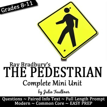 The Pedestrian Mini Unit by Ray Bradbury