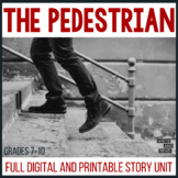 The Pedestrian Digital and Printable Short Story Unit   Distance Learning