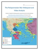 The Peloponnesian War- Webquest and Video Analysis with Key