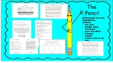 The Pencil with mini-book, comprehension, inference, cause