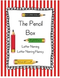 The Pencil Box - A Letter Naming and Letter Naming Fluency Game