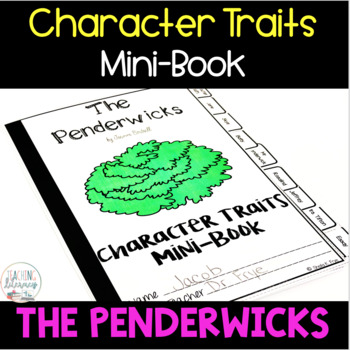 The Penderwicks Character Traits Graphic Organizers