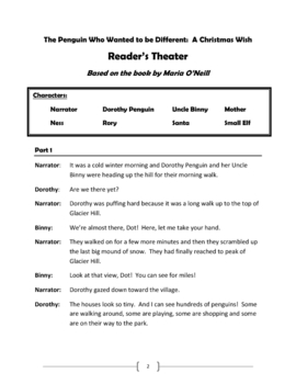 The Penguin Who Wanted to Be Different: Christmas Reader's Theater