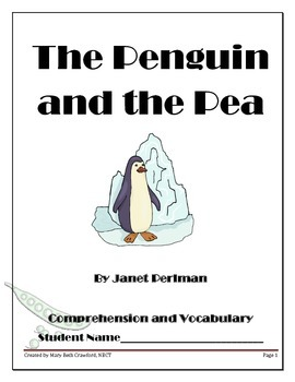 The Penguin and the Pea {Comprehension and Written Response} Fairy Tale