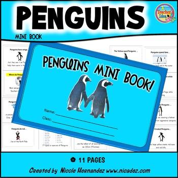 Penguin Mini Book Teaching Resources | Teachers Pay Teachers