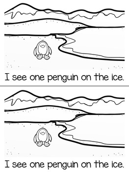 The Penguins are on the Ice (Are & Now Emergent Reader + Teacher Version)
