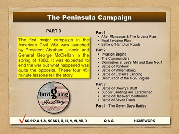 The Peninsula Campaign - Part 3