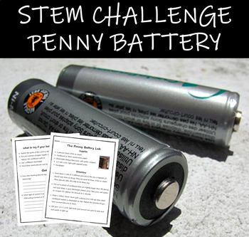 The Penny Battery Lab (Electricity)