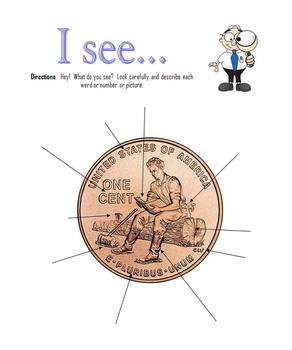 The Penny:  Comparing, Analyzing, Describing, and more (Money)