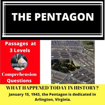 The Pentagon  Differentiated Reading Passage January 15