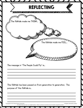 """The People Could Fly"" Folktale Study and Analysis"