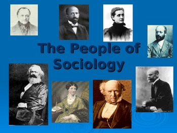 The People of Sociology