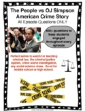 The People vs OJ Simpson American Crime Story All Episodes