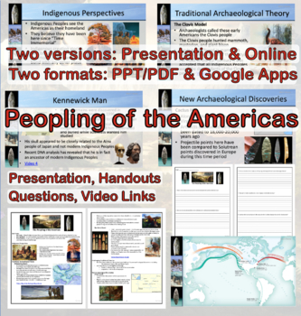 The Peopling of the Americas