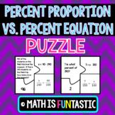 The Percent Proportion vs. The Percent Equation Puzzle