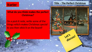 The Perfect Christmas Descriptive Writing