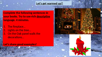 The Perfect Christmas Descriptive Writing