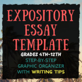 The Perfect Expository Essay Template and Graphic Organizer