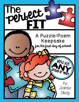 The Perfect Fit [A Puzzle/Poem Keepsake for the First Day
