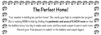The Perfect Home: Finding Area & Perimeter