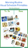 Morning & Night Routine Visual Schedule