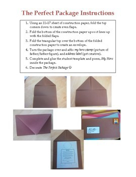 The Perfect Package - Father's Day Poem and Craft kit