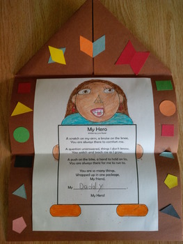 My Hero - Father's Day Poem in a Perfect Package (and other activities)