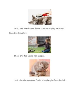 The Perfect Pet adapted story