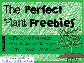 The Perfect Plant Freebies