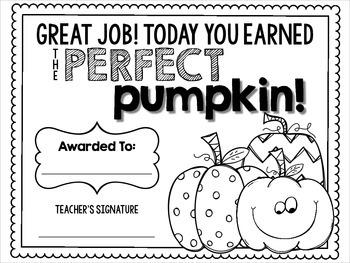 Fall Classroom Management