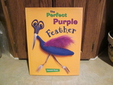 The Perfect Purple Feather by Hanoch Piven LIKE NEW Hardcover