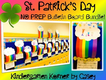 ST. PATRICK'S DAY The Perfect Bulletin Board Pack! Writing