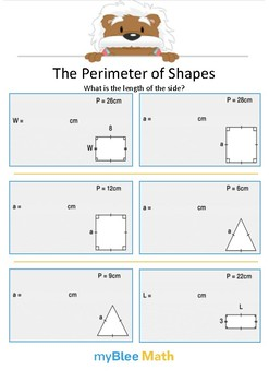 The Perimeter of Shape 2 - What is the length? - Gr 4