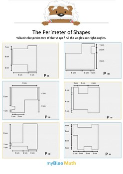 The Perimeter of Shape 4 - What is the perimeter of the shaper? - Gr 3
