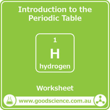 Introduction to the Periodic Table of the Elements [Worksheet]