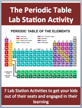 The periodic table 7 engaging lab station activities by teach with the periodic table 7 engaging lab station activities urtaz Choice Image