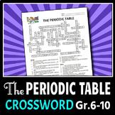 Periodic Table - Crossword {Editable}