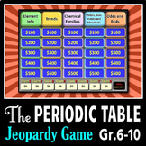 Periodic Table - Jeopardy PowerPoint Game {Editable}