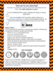 The Periodic Table Review Mystery Picture Worksheet Perfect for Halloween