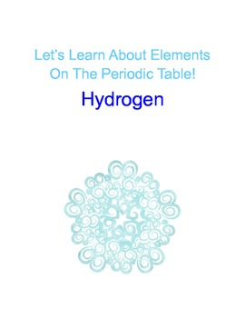 The Periodic Table Of Elements Lesson Hydrogen