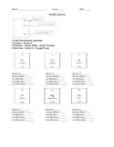 The Periodidc Table and Atomic Structure Worksheets