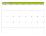 """""""The Perks of Being A Wallflower"""" Calendar Plot Tracker"""