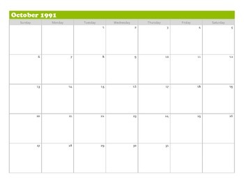 """The Perks of Being A Wallflower"" Calendar Plot Tracker"