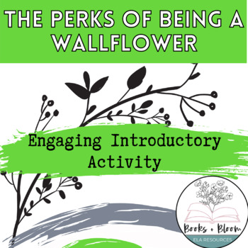 The Perks of Being a Wallflower Unit Resource: Engaging Introductory Activity