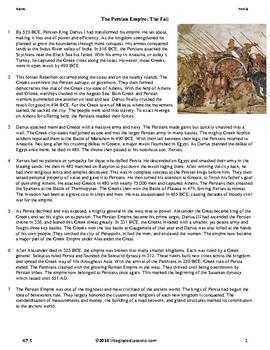 The Persian Empire: The Fall - Grade 7